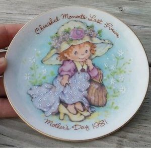 Other - Vintage Cherished Moments 1981 Mother's Day Plate